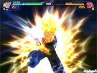 Los efectos de los ataques especiales llenan la pantalla de luz y color