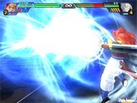 Los combates de Tenkaichi 3 resultarán espectaculares debido a efectos gráficos como éste