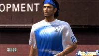 Los modelados de los tenistas son excelentes