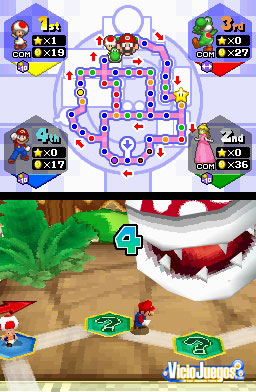 Primer Vistazo: Mario Party DS