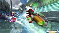 Análisis de Sonic Riders: Zero Gravity para Wii: Sonic skate