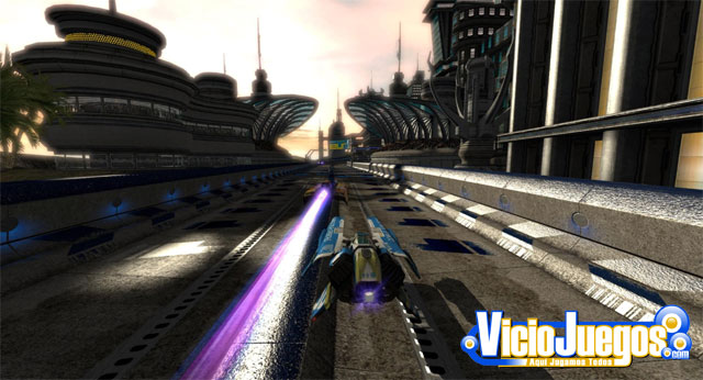 Jugamos a WipeOut HD: Beta en castellano
