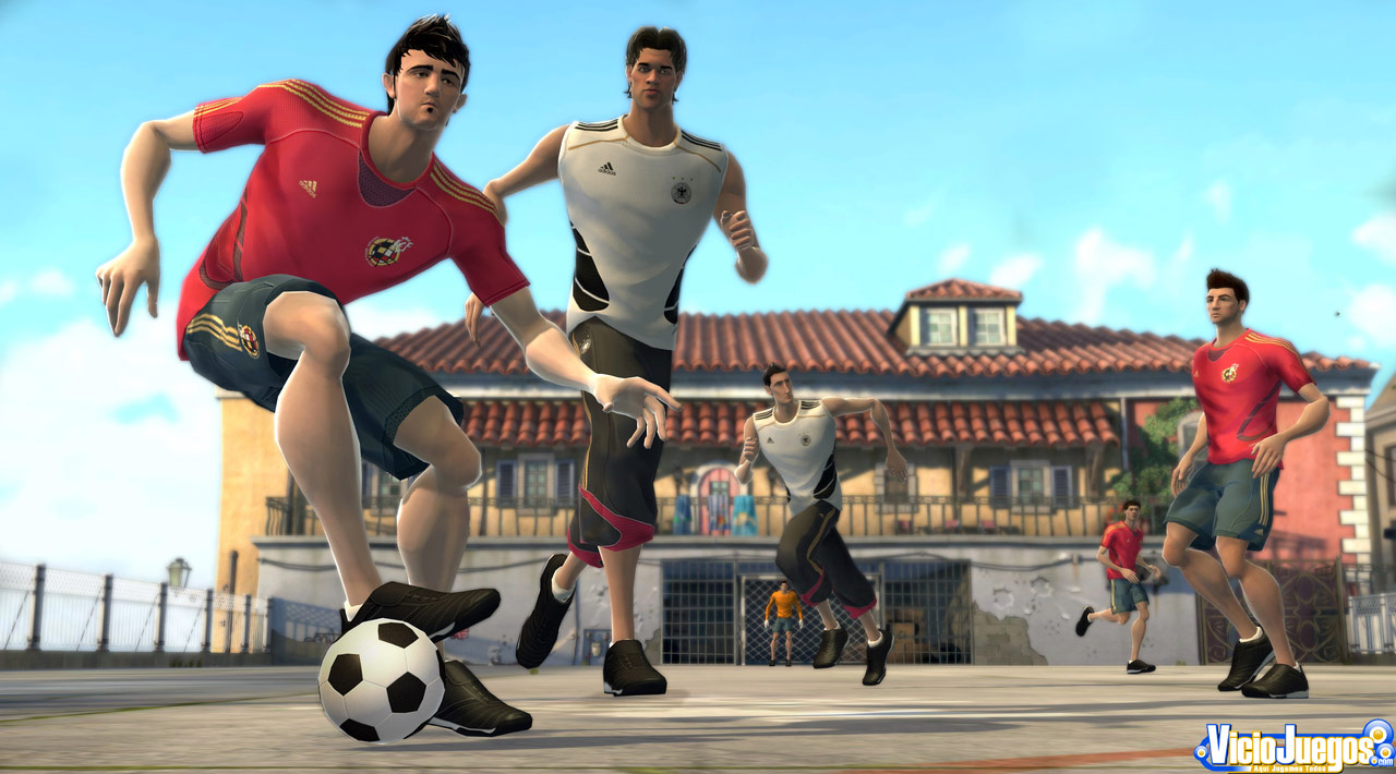 Fútbol de dibujos animados