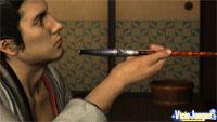 Avance de Yakuza Kenzan: El arte de la guerra