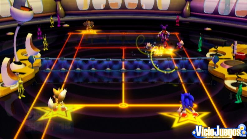 Mario Tennis según Sega