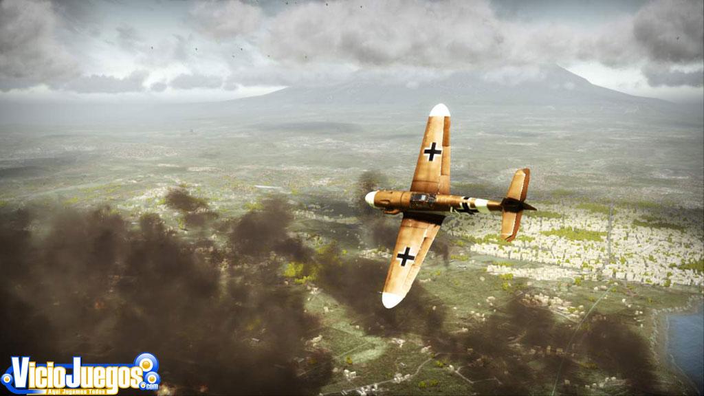 El placer de la caza aérea