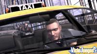 Uno de los detalles curiosos del juego es parar a un taxi para subir en él