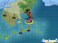 El modo Misión Dragón se representa mediante una especie de tablero con iconos, que son las misiones