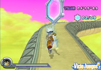 Visitaremos lugares emblemáticos de la serie saltando y volando a placer con Goku