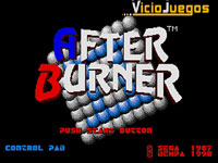 Imagen/captura de After Burner II para Mega Drive