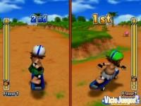 Los minijuegos tienen disponible la opción de dos jugadores