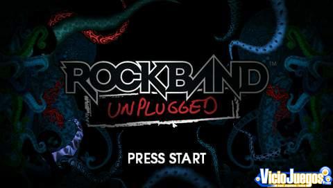Primer vistazo: Rock Band Unplugged