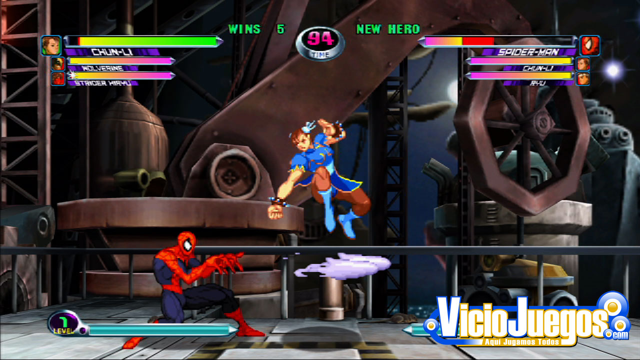 Captivate 09: Jugamos a Marvel Vs. Capcom 2