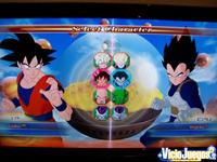 La pantalla de selección de personajes de la demo