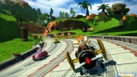 Avance de Sonic & SEGA All-Stars Racing: Impresiones E3'09
