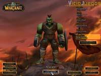 La pantalla de selección de nuestro personaje.