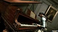 Como en el Resident Evil original, algo sucederá cuando Jill toque el piano.