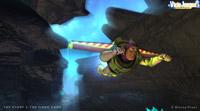 Buzz es el único personaje del juego que puede volar