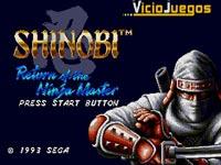 Imagen/captura de Shinobi III: Return of the Ninja Master para Mega Drive