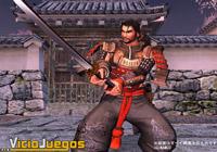 Aquí tenemos a Mitsurugi, uno de los más equilibrados luchadores del juego