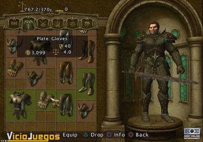El universo EverQuest al más puro estilo Diablo