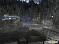 La mítica secuencia de inicio del juego, con lluvia y nuevos gráficos.
