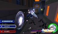 Aquí podéis ver a Riku combatiendo
