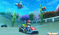 Conducir bajo el agua es otra de las cosas nuevas
