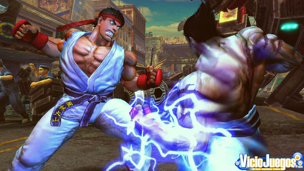 I personaggi di street fighter x tekken
