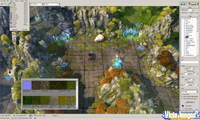 El editor no es tan complejo como en Heroes V, pero cuesta crear mapas de calidad