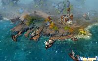 Navegando por mar te encontrarás montones de tesoros y barcos naufragados que podrás saquear
