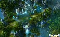 Este es el mapa de la campaña de Santuario, empezamos aquí y nuestro objetivo es capturar una ciudad