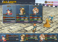 Las batallas de Wild Arms serán de tres integrantes