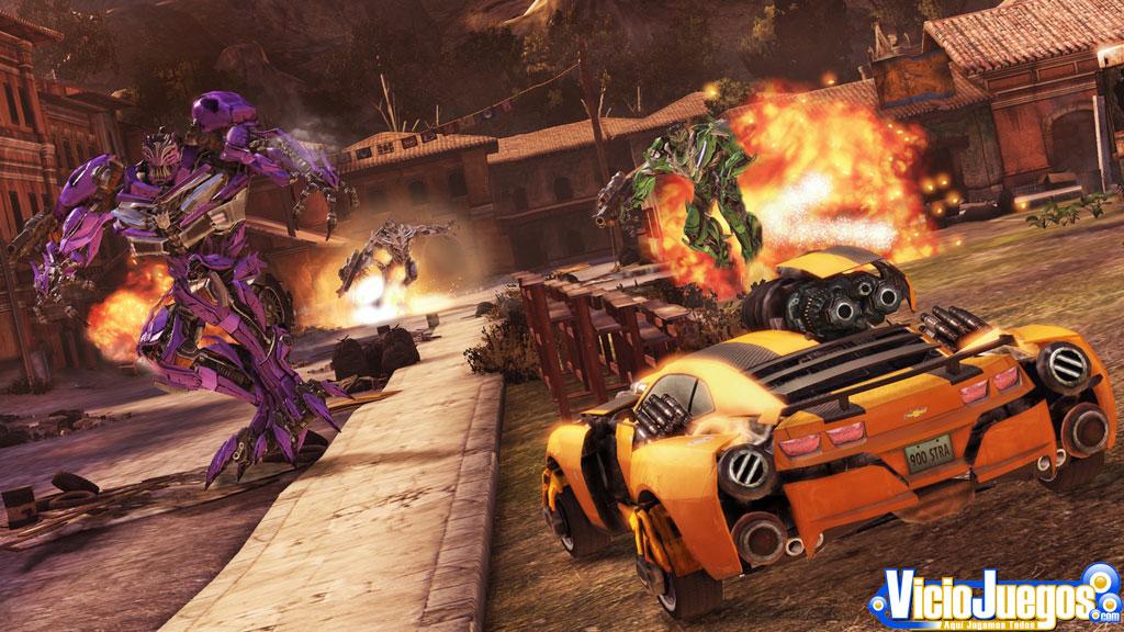 Avance de Transformers El lado oscuro de la luna Pag 2