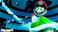 Mario puede utilizar las conchas a modo de proyectil de larga distancia