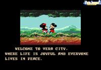 Mickey y Minnie felices en su paseo