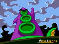 Tras beber el agua contaminada por el vertido tóxico, Púrpura querrá ¡Dominar el mundo!