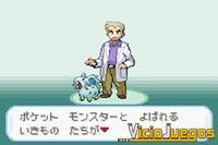 Durante la introducción del juego, el profesor Oak nos explicará qué son los pokémon