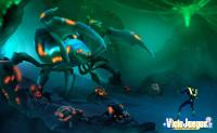 La cíber-araña necesaria en este tipo de aventuras