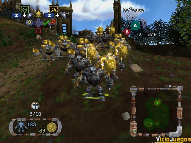 Goblins peleones