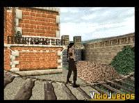 """Lara entrenándose en su """"casita"""""""