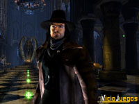 Aquí tenéis la encarnación digital de Hugh Jackman, que nos recordará a Vampire Hunter D
