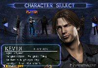 Podemos elegir entre 8 personajes. Kevin es igualito a Tom Cruise