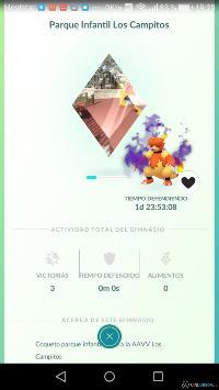 Imagen/captura de Pokémon GO para iPhone / iPod Touch
