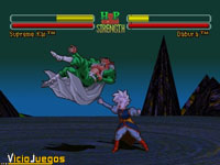 Imagen/captura de Dragon Ball Z: Ultimate Battle 22 para PSOne