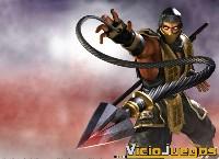 Imagen del legendario Escorpion al igual que Sub-Zero no pudo faltar en esta nueva saga de Mortal Kombat Deception