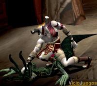Kratos, pillado practicando uno de sus hobbies favoritos...