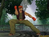 Ralph Jones posando para las cámaras será uno de los personajes más rápidos del juego