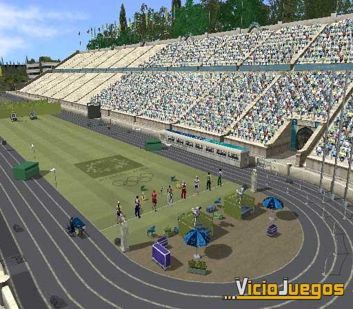 Los Juegos Olímpicos se disputarán en PS2