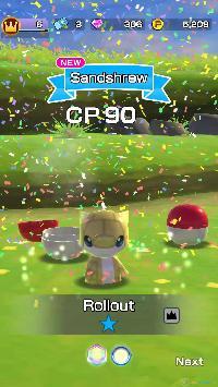 Imagen/captura de Pokemon Rumble Rush para iPhone / iPod Touch